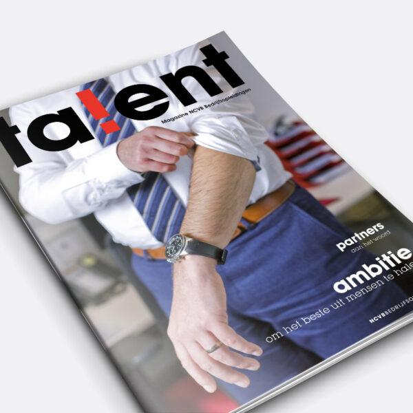 Magazine Talent voor NCVB Bedrijfsopleidingen