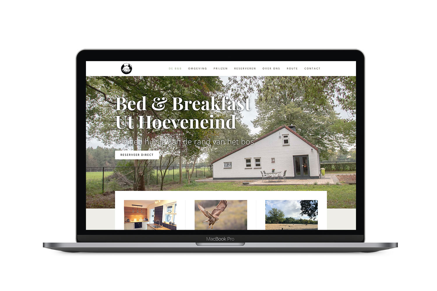 Website B&B Ut Hoeveneind